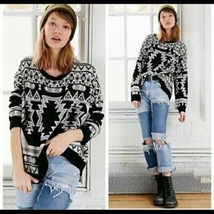 Urban Outfitters BDG Aztec Sweater